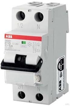 ABB FI/LS-Schalter 6kA, 1p+N DS201A-B16/0,03