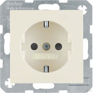 Berker SCHUKO-Steckdose ws/gl 47238982