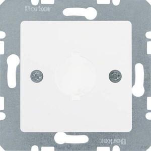 Berker Zentralplatte pws f.Melde-/Befehlsger. 143109