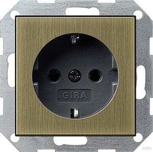 Gira SCHUKO-Steckdose brz/anth System 55 0188603