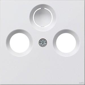 Gira Zentralplatte rws-gl für Koax-Steckdose 086903