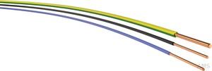 H07V-U  1,5  dbl Ri.100 Aderltg eindrähtig H07V-U  1,5  dbl (100 Meter)