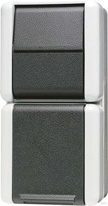 jung schuko steckdose 16a 250v mit taster 871 w. Black Bedroom Furniture Sets. Home Design Ideas