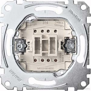 Merten Taster-Einsatz 1W 1S 1-pol.10A 250V MEG3150-0000