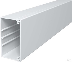 OBO Bettermann Wand+Deckenkanal m.Obert. 60x110mm,PVC WDK60110RW (2 Meter)