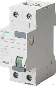 Siemens FI-Schutzschalter 40A,1+N,30mA,230V 5SV3314-6
