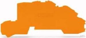 WAGO Abschl./Zwischenplatte orange 2003-7692