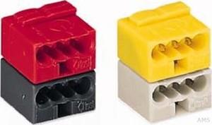WAGO Busankoppler-Klemme lichtgrau gelb verr. 243-212 (50 Stück)