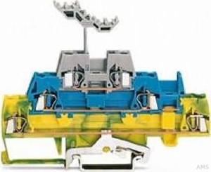 WAGO Drei-Stock-Klemme 0,08-2,5mmq gn/ge/bl 280-547