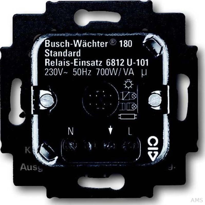 busch jaeger relais einsatz sensor 700w va 3leiter 230v. Black Bedroom Furniture Sets. Home Design Ideas