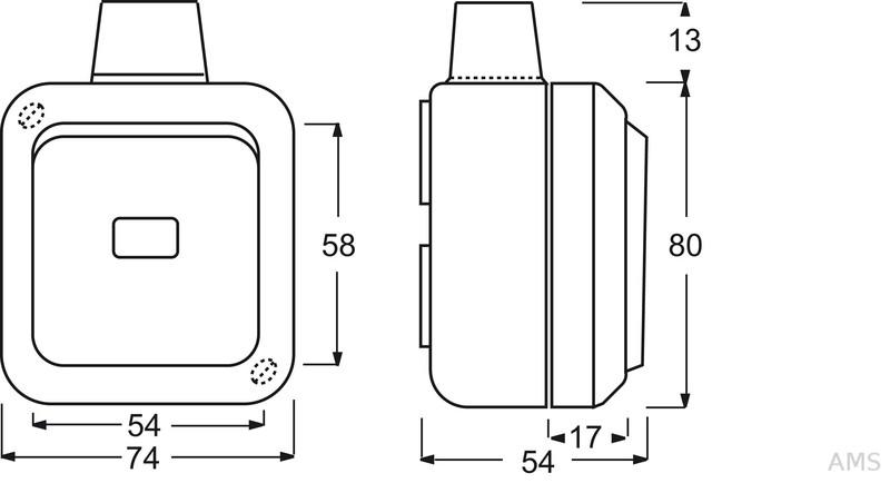 busch jaeger wechselschalter ap 2601 6 wdi. Black Bedroom Furniture Sets. Home Design Ideas