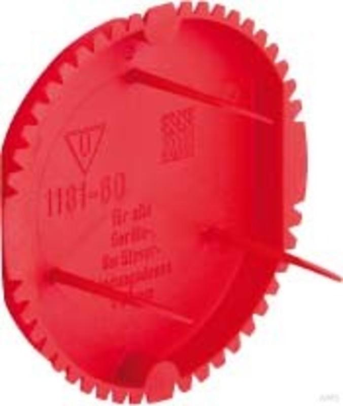 Kaiser signal deckel rot 1181 60 for Deckel elektrodose