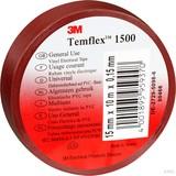 3M Elektroisolierband 15mm x10m br TemFlex 1500 15x10br