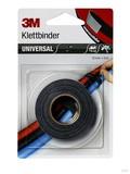 3M Klettband Druckverschluss 12mmx3m,grau/schwarz 661939