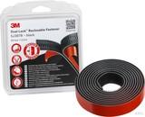3M Klettband Druckverschluss 25mmx2,5m, 6,1mm SJ3870/IPS (4 Stück)