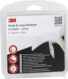 3M Klettband Haken Schlaufen 25mmx1,25m,4,4mm SJ352W/IPS (4 Stück)