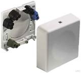 ABL Sursum Geräte-Anschlußdose ws AP 2505010