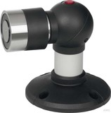 Assa Abloy effeff Magnet 830 300N Boden/Wand 24V 110mm Dämpfer 830-3BW1UD--F90