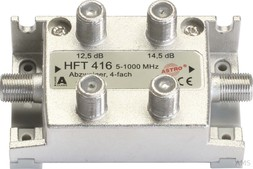 Astro Abzweiger 4-fach 6,8 dB, 5-1000 MHz HFT 416