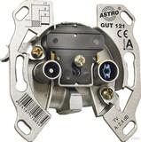 Astro Antennensteckdose 2-Loch, Stichdose GUT 121