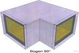 BIO Brandschutz Bogen 90 Grad Easy I30, 110x50 EY1202