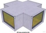 BIO Brandschutz Kreuzstück Easy I90/E30, 110x50 EY2204