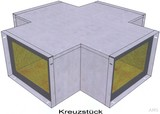 BIO Brandschutz Kreuzstück Easy I90/E30, 260x100 EY2504