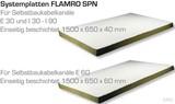 BIO Brandschutz SPN Systemplatte 60mm 1Platte 0,975 qm 60060