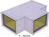 BIO Brandschutz T-Stück Easy I30, 110x50 EY1203