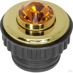 Berker Drucktaster Topaz Berker T S Crystal gold 19650203