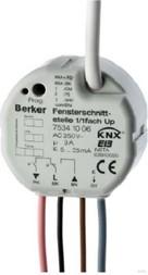 Berker Fensterschnittstelle 1/1f. Up instabus KNX/E 75341006