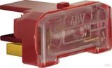Berker Glühaggregat mit N-Klemme Modul-Einsätzerot 167603