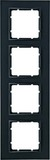 Berker Rahmen anth/matt 4fach 10146626