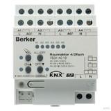 Berker Raumaktor 4/2fach 16 A Sch ließer, Hand, Status 75314019
