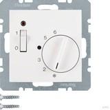 Berker Raumtemperaturregler 24 V mit Öffner, Zentrals 20311909