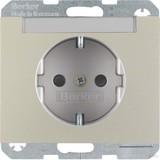 Berker SCHUKO-Steckdose eds m.Beschriftungsfeld 47387004 (10 Stück)