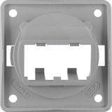 Berker Tragplatte gr f.2 MINI-COM Module 945592507
