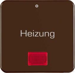 Berker Wippe br mit roter Linse 156901 (10 Stück)