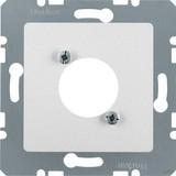 Berker Zentralplatte alu 14121404 (10 Stück)
