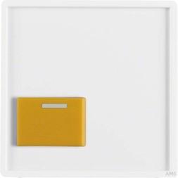 Berker Zentralstueck m. gelber Ab stelltaste 12526089