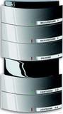 Busch-Jaeger Bedienelement 5/10fach MF/IR 6320/50-20