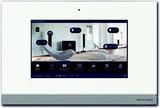 Busch-Jaeger Comfort Panel weißglas 228,6mm 9Zoll 8136/09-811