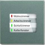 Busch-Jaeger LED-Anzeige WaveLINE meteor/graumetallic 6730-803