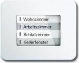 Busch-Jaeger LED-Bedienelement ws matt 6730-24