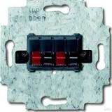 Busch-Jaeger Lautsprecher-Anschlussdose 2fach, schwarz 0248/05-101