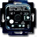 Busch-Jaeger Memo.Tastdimmer-Einsatz 20-500W/VA 6560 U-101