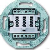 Busch-Jaeger TAE-Anschlussdose aws 2x6/6 NFF 0242/04