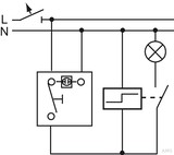Busch-Jaeger Taster-Einsatz 1pol. Schließer 2020 US