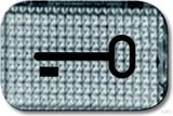 Busch-Jaeger Tastersymbol Schlüssel 2145 TR