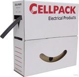 Cellpack Schrumpfschlauch in Abrollbox 10m SBS 2.4-1.2 sw